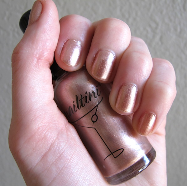 Nailtini Straight Up Color Nail Lacquer in Champagne
