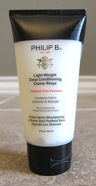 Philip B Light-Weight Deep Conditioning Creme Rinse 2 oz, $8.67 value