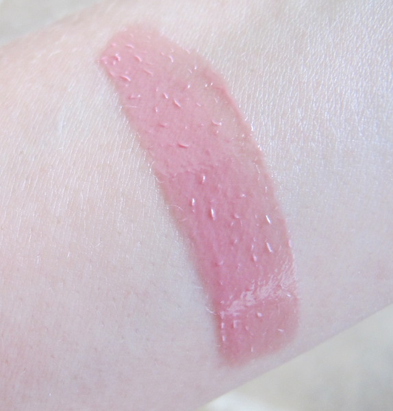 NYX Butter Gloss Swatch in Éclair