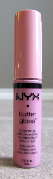 NYX Butter Gloss in Éclair, Full size 0.27 oz, $4.99 value