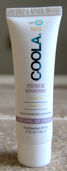 COOLA Tinted Matte SPF 30 for Face 0.17 oz, $3.60 value