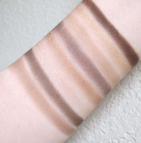 Too Faced Natural Eyes Neutral Eye Shadow Collection Swatches