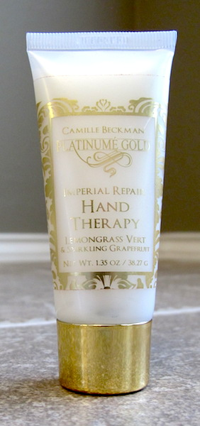 Camille Beckman Platinume Gold Imperial Repair Hand Therapy, full size 1.35 oz, $10.00 value