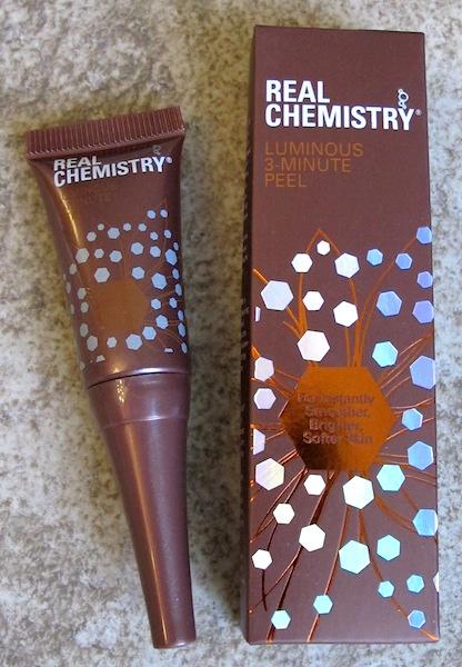 Real Chemistry Luminous 3-Minute Peel 0.17 oz, $4.80 value
