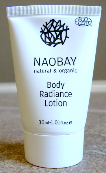 Naobay Body Radiance Lotion 1.01 oz, $2.89 value