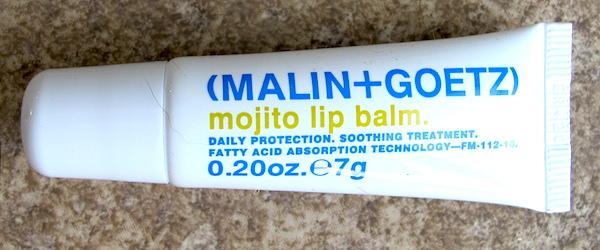 Malin + Goetz Mojito Lip Balm 0.20 oz, $6.86 value