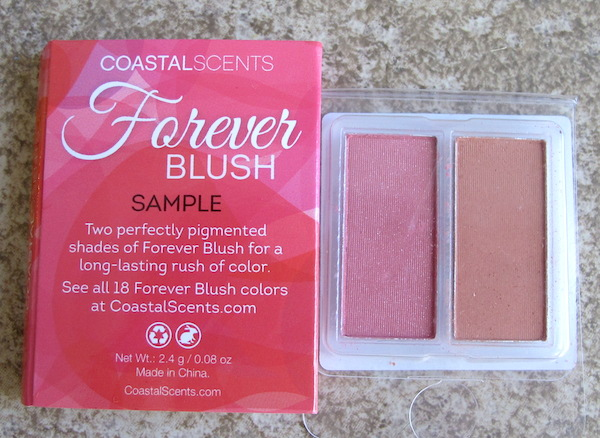 Coastal Scents Forever Blush Sample Duo in Fresh (left) and Elegant (right) 0.08 oz, $0.91 value