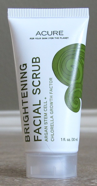 Acure Organics Brightening Facial Scrub Sea Kelp + CGF 1 oz, $3.75 value
