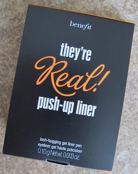 Benefit They're Real! Push-Up Liner 0.003 oz, $1.80 value
