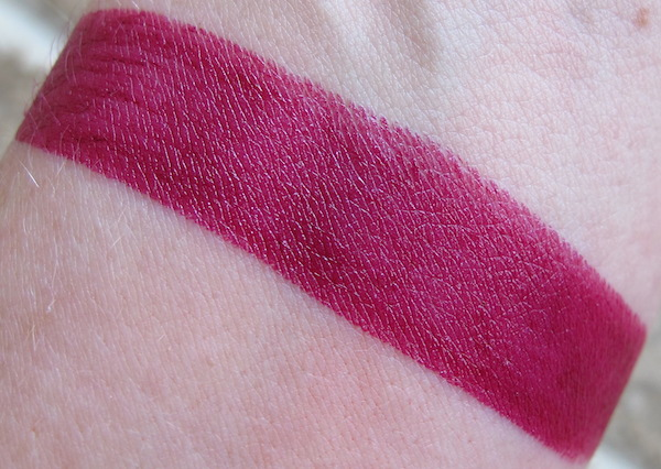 Urban Decay Revolution Lipstick Swatch in Venom