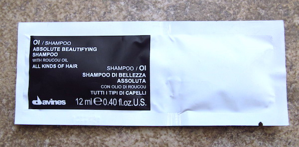 Davines OI / Shampoo 0.40 oz, $1.10 value