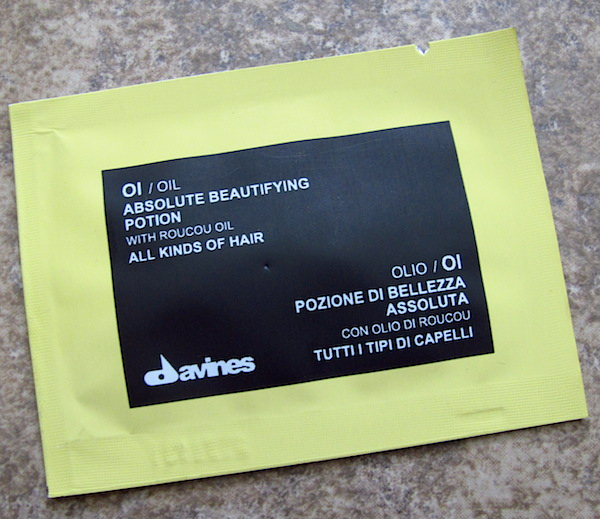 Davines OI / Oil Absolute Beautifying Potion 0.10 oz, $1.03 value