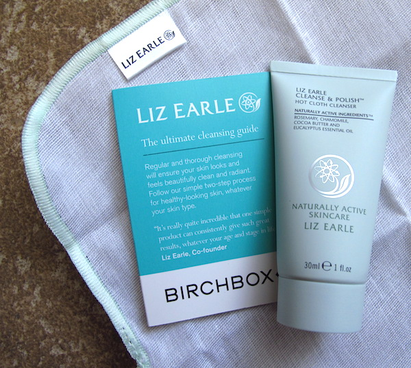 Liz Earle Cleanse & Polish Hot Cloth Cleanser 1 oz + 1 muslin cloth, $9.00 value