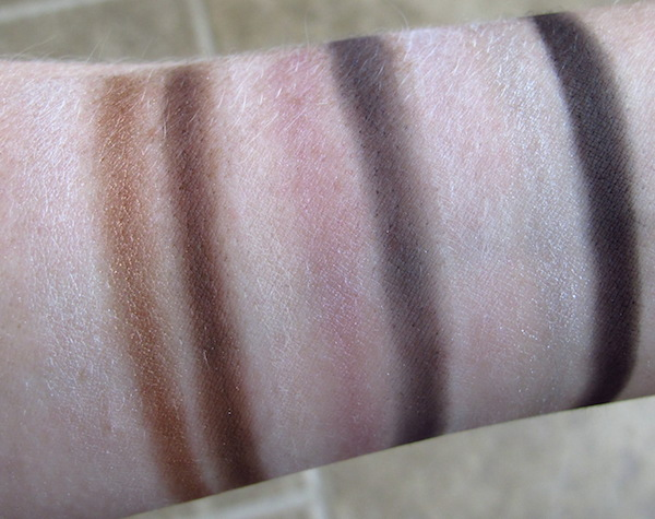Too Faced Cat Eyes Palette Swatches