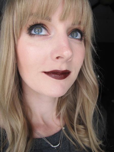 Portland Black Lipstick Company Lipstick in Undead Red