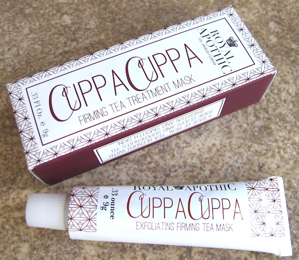 Royal Apothic Cuppa Cuppa Firming Tea Treatment Mask 0.33 oz, $9.67 value