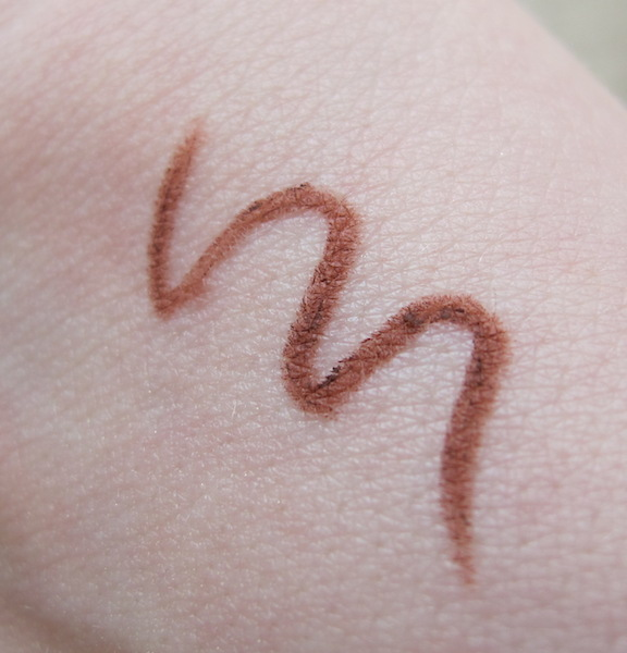 MUD Mahogany Lip Pencil Swatch