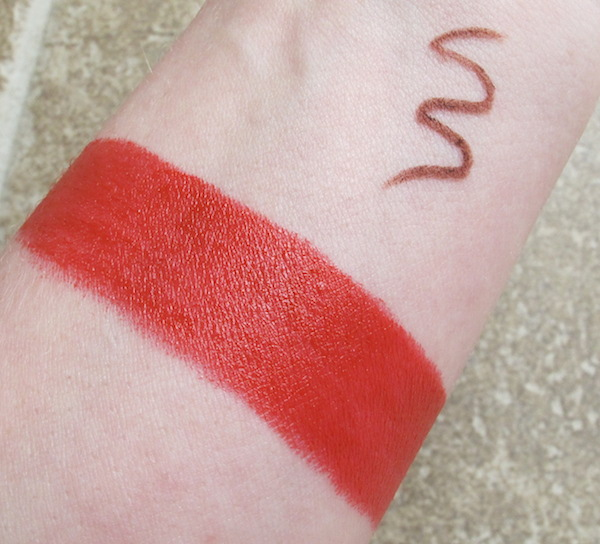 Wantable October 2014 Lipstick and Lip Pencil Swatches