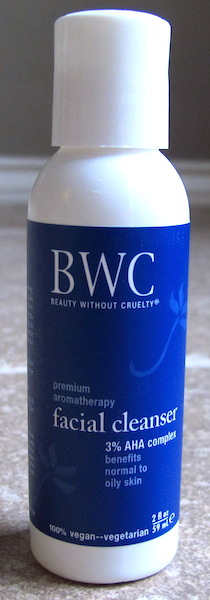 Beauty Without Cruelty A.H.A. 3% Facial Cleanser 2 oz, $2.81 value