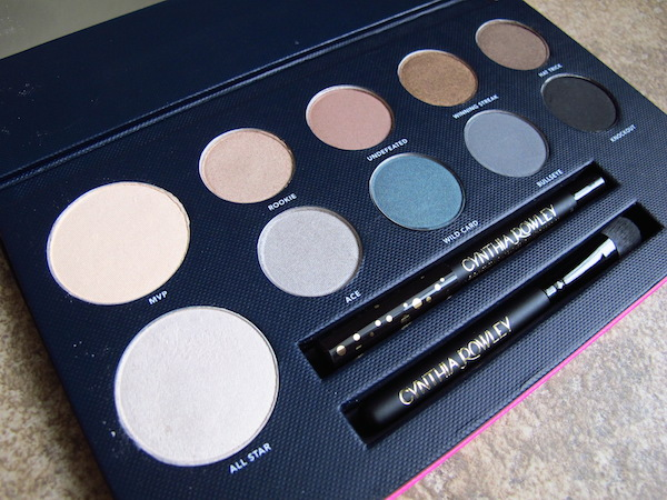 Cynthia Rowley Beauty The Game Face Eyeshadow Palette