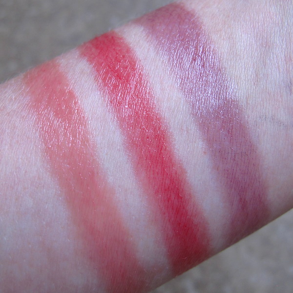 Lipstick Queen Three to Captivate Swatches