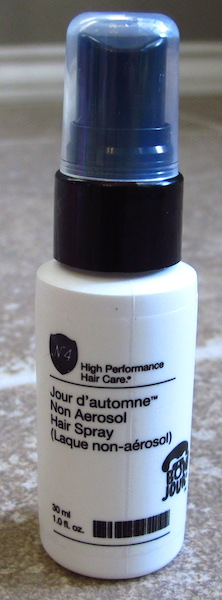 Number 4 Hair Care Non-Aerosol Hairspray 1 oz, $4.44 value