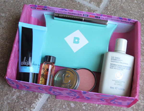 Birchbox April 2015 Mad Men-Inspired New York Box