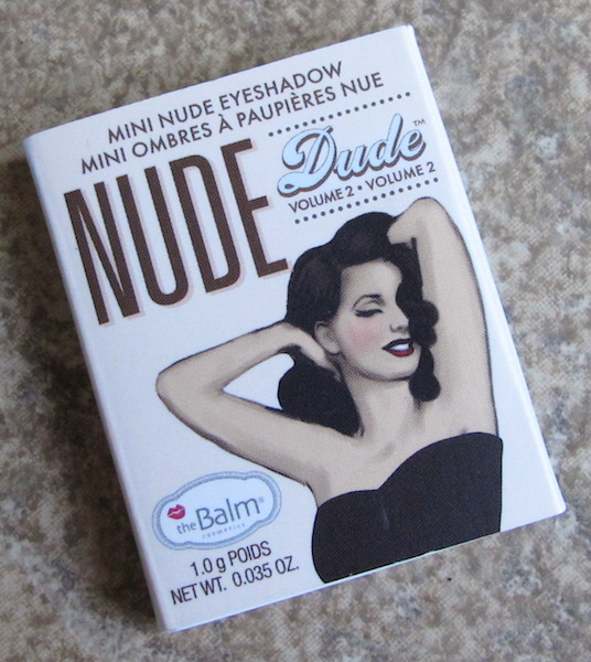 theBalm Cosmetics NUDE Dude Eyeshadow Single in Fit 0.035 oz, $3.75 value