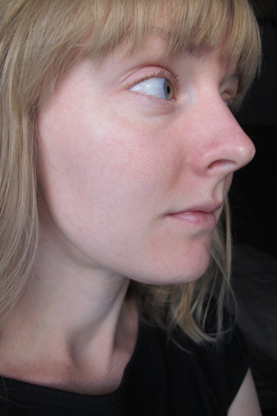 Skin after one week using Hey Honey Good Morning Honey Silk Facial Serum