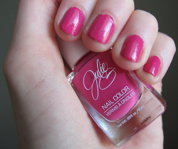 JulieG Nail Color in Damsel