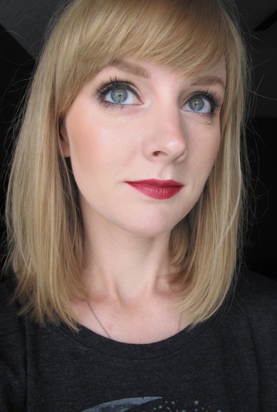 NARS Satin Lip Pencil in Hyde Park on Face