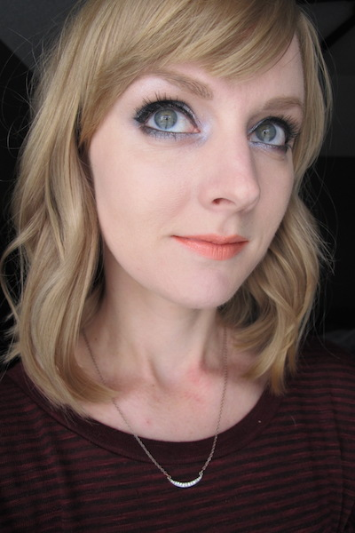 NARS Blush in Nico all over face