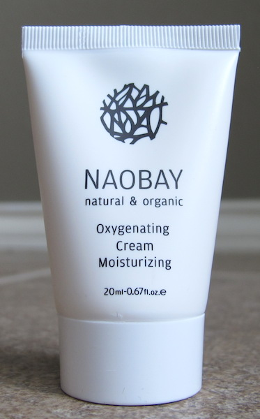 Naobay Oxygenating Cream Moisturizer 0.67 oz, $14.19 value