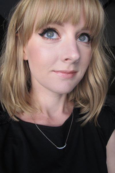 Finished Look with Wet n' Wild Coverall Cream Foundation in 815 Fair on Face